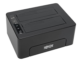 Tripp Lite USB 3.0 to Dual SATA Docking Cloning Station, U339-002, 16702437, Hard Drive Enclosures - Multiple
