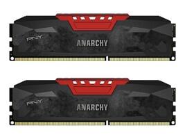 PNY 8GB PC3-17000 240-pin DDR3 SDRAM DIMM Kit, MD8GK2D3213310AR-Z, 29830665, Memory