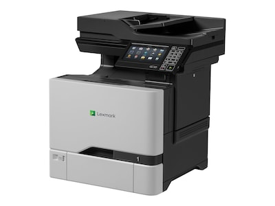 Lexmark CX725de Multifunction Color Laser Printer w  CAC Enablement (TAA Compliant), 40CT012, 32083832, MultiFunction - Laser (color)