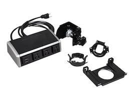C2G WireMold Desktop Power Center Work Surface Portal, 16229, 35058229, Power Strips