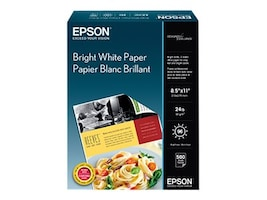 Epson 8.5 x 11 Premium Bright White Paper (500-sheets), S041586, 5692641, Paper, Labels & Other Print Media