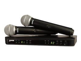 Shure BLX Wireless H10 Band Microphone System, Dual Vocal System w/1 BXL, 35051262, Microphones & Accessories