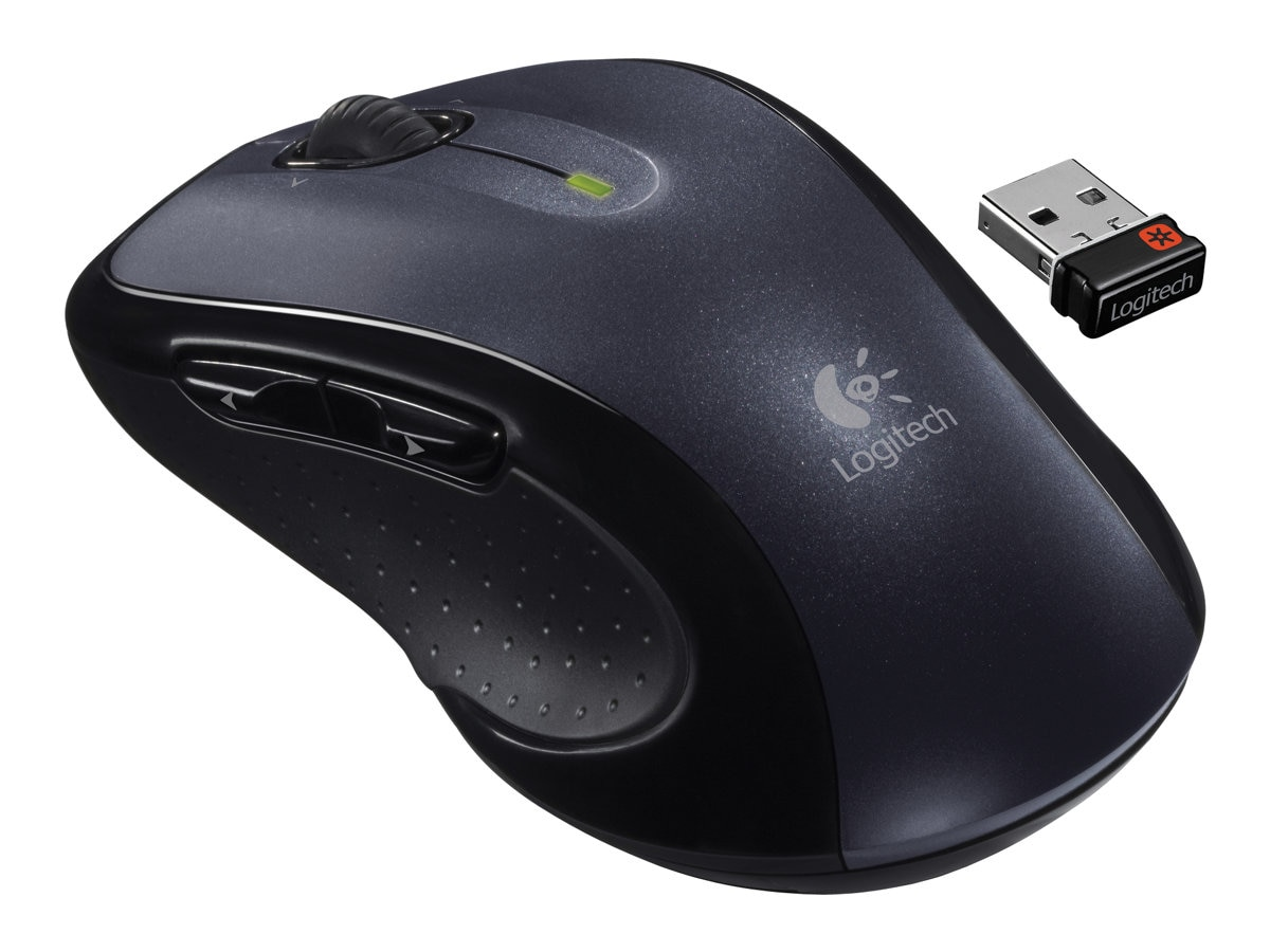 Logitech Wireless Mouse M510, Black, 910-001822, 11566093, Mice & Cursor Control Devices