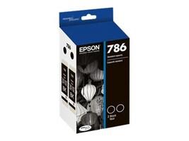 Epson Black 786 DuraBrite Ultra Dual Ink Cartridge, T786120-D2, 17785684, Ink Cartridges & Ink Refill Kits - OEM