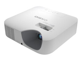 Casio XJ-V100W WXGA DLP Projector, 3000 Lumens, White, XJ-V100W, 31817700, Projectors