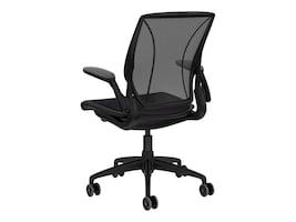 Humanscale Diffrient World Chair, Black, W11BM10V101, 32304703, Furniture - Miscellaneous