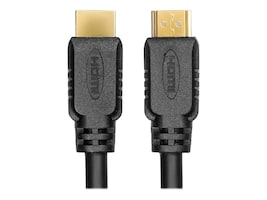 RocStorage HDMI to HDMI M M Cable with Ethernet, Black, 2m, Y10C107-B1, 31209085, Cables
