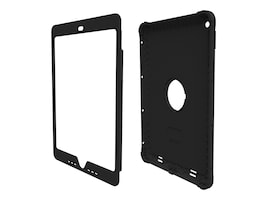 Trident Case Kraken Case for iPad Air 2, Clear, KN-APIPA2-CLBLK, 35521720, Carrying Cases - Tablets & eReaders