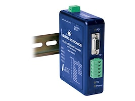 B&B Electronics RS-232 to RS-485 422 DIN Rail Mount Converter, 485DRCI, 14477660, Adapters & Port Converters