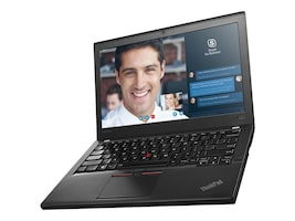 Lenovo TopSeller ThinkPad X260 2.6GHz Core i7 12.5in display, 20F6005JUS, 31220073, Notebooks