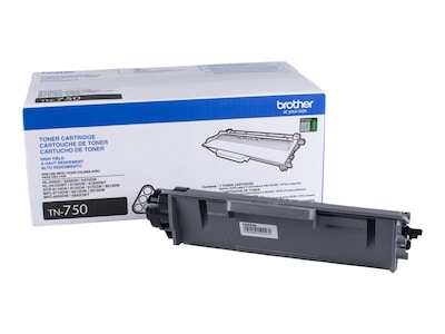 Brother Black High Yield Toner Cartridge for DCP-8110DN, DCP-8150DN, DCP-8155DN, HL-5450DN, HL-5470 Series, TN750, 14459584, Toner and Imaging Components
