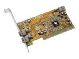 Siig 1394 3-Port PCI I E ROHS 2 External 1 Internal Adapter, NN-440012-S8, 6858622, Controller Cards & I/O Boards