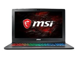 MSI GF62VR 7RF-877 Core i7-7700HQ 2.8GHz 16GB 1TB ac BT WC GTX1060 15.6 FHD W10, GF62VR877, 34385181, Notebooks