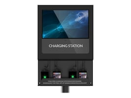 ChargeTech CHARGETECH DIGITAL SIGN CHARGING STATION. DISPLAYS VIDEO MEDIA W  CLOU, CT-300020, 37259534, Power Strips
