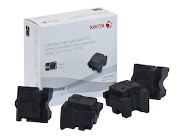 Xerox Black Ink Sticks for ColorQube 8700 Series (4-pack), 108R00994, 13781563, Toner and Imaging Components - OEM