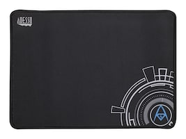 Adesso Tru-Form Non-Slip Gaming Mouse Pad, 12 x 8, Black, TRUFORM P101, 35125495, Ergonomic Products