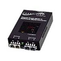 Transition 1000Base-SX SC MM to 1000Base-LX SC SM Media Converter, SFMFF1314-220-NA, 5448445, Network Transceivers