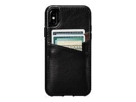 Targus DEEN LUGANO LTHR WALLET CASE IPHONE X XS, SFD373NPUS, 37235129, Carrying Cases - Phones/PDAs