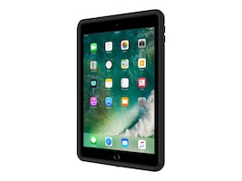 Griffin Capture Ultra Rugged Case w  Rotating Hand Strap for 5th Gen iPad, Black, IPD-394-BLK, 34104511, Carrying Cases - Notebook