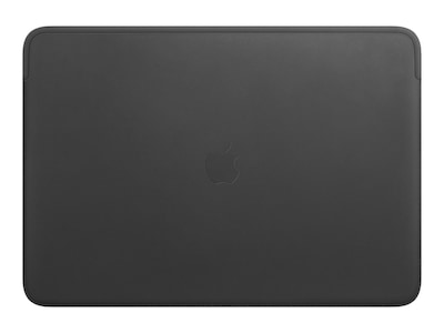 Apple Leather Sleeve for 16-inch MacBook Pro - Black, MWVA2ZM/A, 37813259, Carrying Cases - Notebook