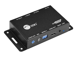 Siig HDMI 20 Audio Extractor Embed, CE-H23M11-S1, 36191929, Switch Boxes