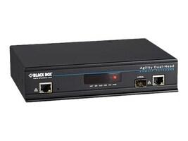 Black Box Agility KVM Over IP Matrix, Dual Head DVI-D, USB 2.0, Single-Link KVM Transmitter, ACR1020A-T, 34805780, KVM Switches