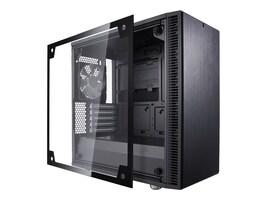 Fractal Design Chassis, Fractal Design Define C mATX T, FD-CA-DEF-MINI-C-BK-TG, 34375572, Cases - Systems/Servers