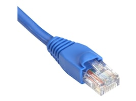 Black Box GigaBase Cat5e 350MHz Patch Cable, Snagless, Blue, 6in, EVNSL81-06IN, 11522357, Cables