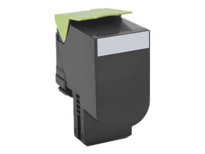 Lexmark 801HK Black High Yield Return Program Toner Cartridge, 80C1HK0, 14909514, Toner and Imaging Components