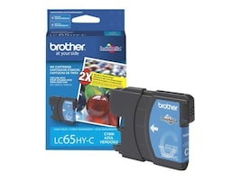 Brother Cyan High Yield Ink Cartridge for MFC-6490CW, LC65HYC, 8688858, Ink Cartridges & Ink Refill Kits