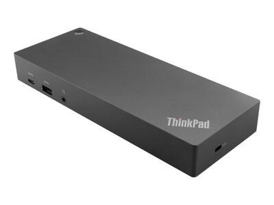 Lenovo ThinkPad Hybrid USB-C with USB-A Dock, 40AF0135US, 35084021, Docking Stations & Port Replicators