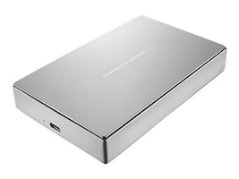 Lacie 4TB Porsche Design USB 3.1 Mobile Hard Drive, STFD4000400, 34304643, Hard Drives - External