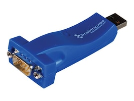 Brainboxes USB 1XRS232 1MB USB to Serial Controller w  19 Cable, US-10102, 14488959, Controller Cards & I/O Boards