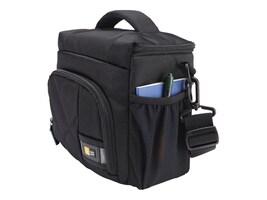 Case Logic DSLR Camera Shoulder Bag, Small, Black, CPL-105BLACK, 20276397, Carrying Cases - Camera/Camcorder