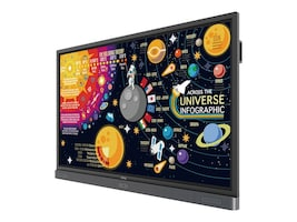 BenQ 75 4K UHD Interactive Flat Panel Touch Display, RP7501K, 36709548, Monitors - Large Format - Touchscreen