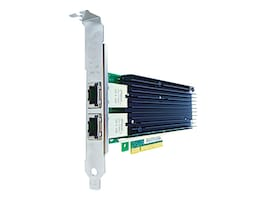 Axiom 2-port NIC 10Gbps RJ45 PCIE X8 Dell 540-BBDT, 540-BBDT-AX, 33160705, Network Adapters & NICs