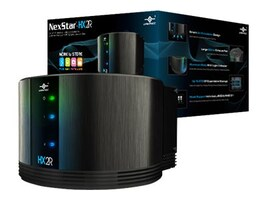 Vantec NexStar-HX2R Dual 3.5 SATA to USB 3.0 & eSATA External Hard Drive RAID Enclosure w  Fan - Black, NST-620S3R-BK, 17433646, Hard Drive Enclosures - Multiple