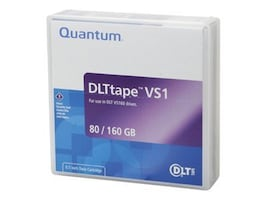 Quantum Case (20) DLT Tape VS1, MR-V1MQN-01/20PK, 7897754, Tape Drive Cartridges & Accessories