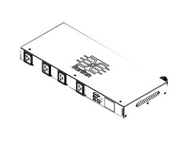 Raritan PDU 7.4kVA 230V 32A 1ph 1U IEC60309 Input (4) C19 Outlets, PX3-5092R-F8, 33758002, Battery Backup/UPS