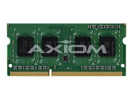 Axiom 4GB PC3-12800 DDR3 SDRAM SODIMM for Select Models, A6994452-AX, 21246544, Memory