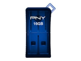 PNY Technologies P-FDU16GSLK/BLU-GE Main Image from Front