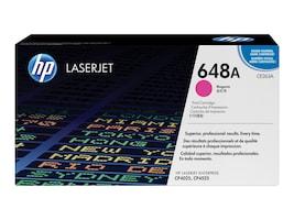 HP 648A (CE263A) Magenta Original LaserJet Toner Cartridge, CE263A, 10457864, Toner and Imaging Components - OEM