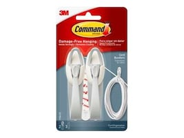 3M Command Cord Bundlers (2 Bundlers, 3 Strips), 17304-ES, 37477460, Mounting Hardware - Miscellaneous