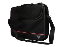 V7 Front Loader Entry Level Polyster Bag for 15.6 Laptop, CCK1-3N, 23208074, Carrying Cases - Notebook