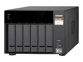 Qnap 6-Bay iSCSI IP-SAN AMD Radeon Storage, TS-673-4G-US, 35381624, SAN Servers & Arrays