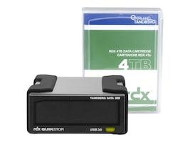 Overland 4TB Tandberg USB 3.0 + RDX QuikStor Drive Kit w  MS Windows Backup, 8866-RDX, 33565411, Removable Drive Cartridges & Accessories