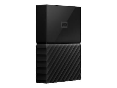 WD 2TB My Passport for Mac USB 3.1 Portable Hard Drive, WDBLPG0020BBK-WESE, 35390045, Hard Drives - External