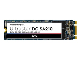 HGST 240GB Ultrastar DC SA210 SATA 6Gb s M.2 2280 Enterprise Solid State Drive, 0TS1654, 37910817, Solid State Drives - Internal