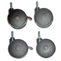 Mayline Casters for NetStart LAN Support Station, 21102, 5848908, Cart & Wall Station Accessories