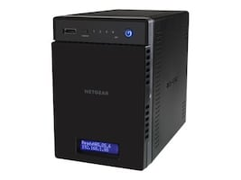 Netgear ReadyNAS 214 Network Storage - 4x2TB, RN214D42-100NES, 30790429, Network Attached Storage